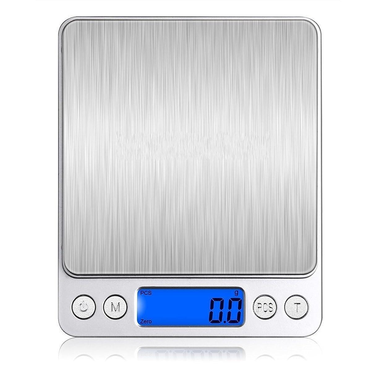 収まる無法者調和Leiking デジタルスケール 電子天秤 0.1gから3000gまで精密な計量器 風袋引き機能付き 料理用電子はかり