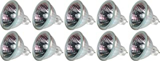 GE Lighting 20834 50-Watt 850-Lumen MR16 Floodlight Bulb with 2-Pin Base, 10-Pack