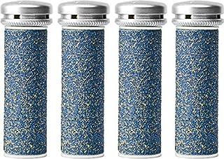 Emjoi Micro-Pedi Super Coarse Refill Rollers - Pack of 4 - Removes Tough Callusesf