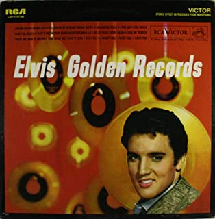 Elvis Presley: Elvis' Golden Records - LP Vinyl Record Album