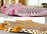 Bombay Spreads Multi Color 100% Pure Cotton Full Size 2 Double Bed Sheet