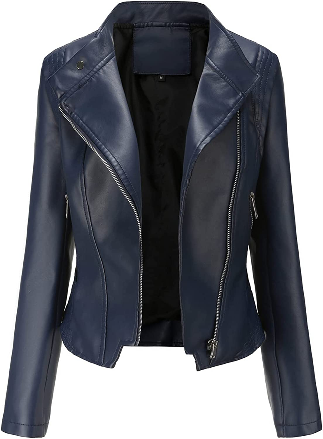 Euone_Clothes Quality Outlet sale feature inspection Winter Coats for Women Fau Leather Jackets Womens