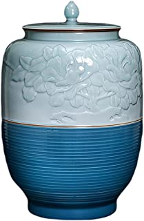 LUYIYI Cans de Stockage des Aliments, canettes à thé en céramique avec couvercles hermétiques, Conception Moderne, pour Le...