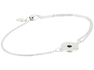 Alex and Ani Evil Eye Pull Chain Bracelet (Sterling Silver) Bracelet