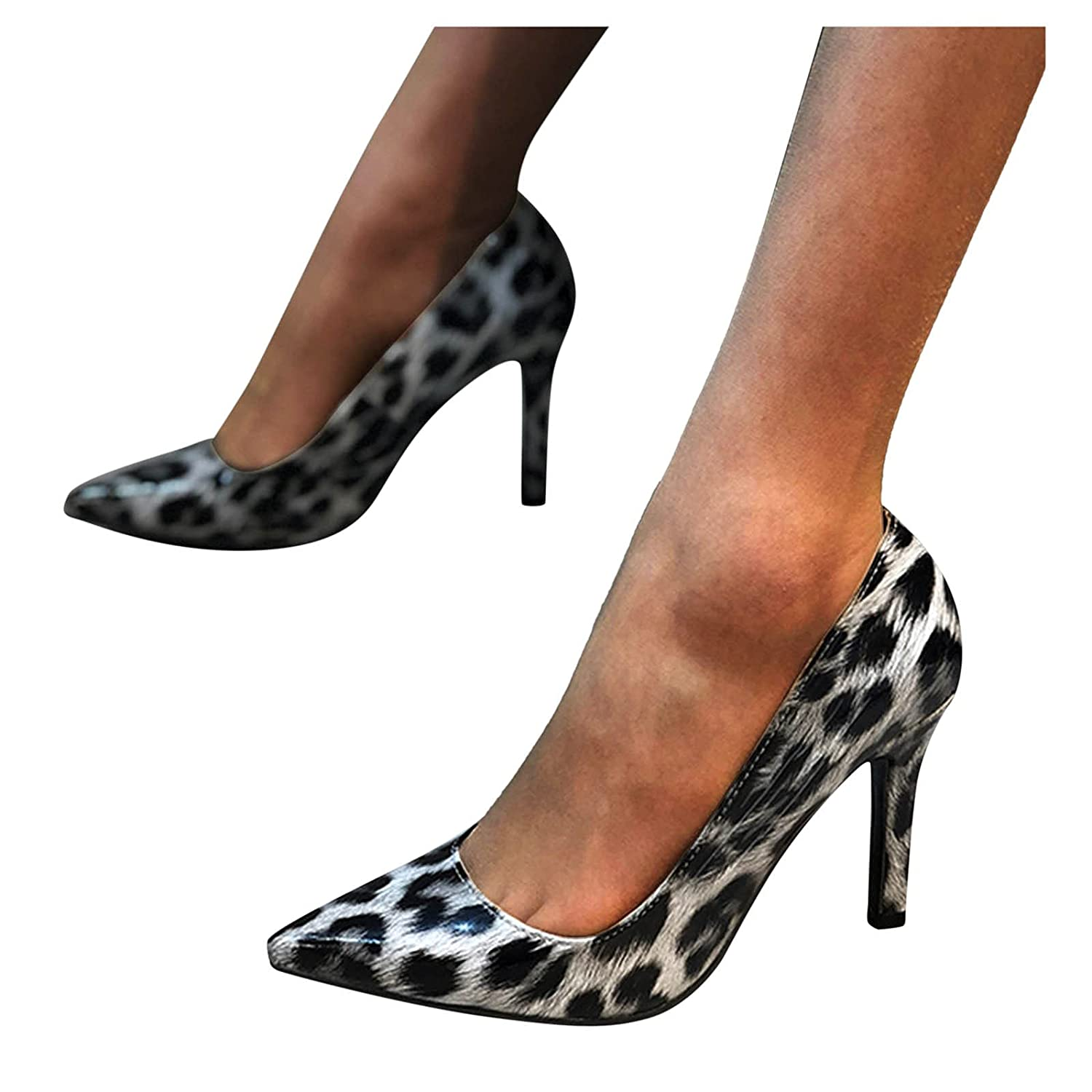 Cenglings Women's Sexy Pointed unisex Toe Shoes Breathable Brand new Shallow High
