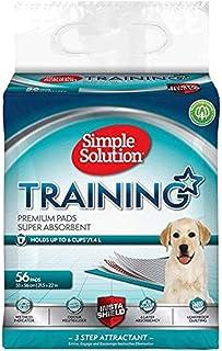 Simple Solution Almohadillas de Entrenamiento de Perro y Cachorro Premium (Pack de 56)
