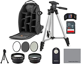 Professional Kit 52MM Accessory Bundle Kit for Nikon D3300 D3200 D3100 D5000 D5100 D5200 D5300 D5500 D7000 D7100 D7200 & DSLR Cameras, 12 Accessories for Nikon