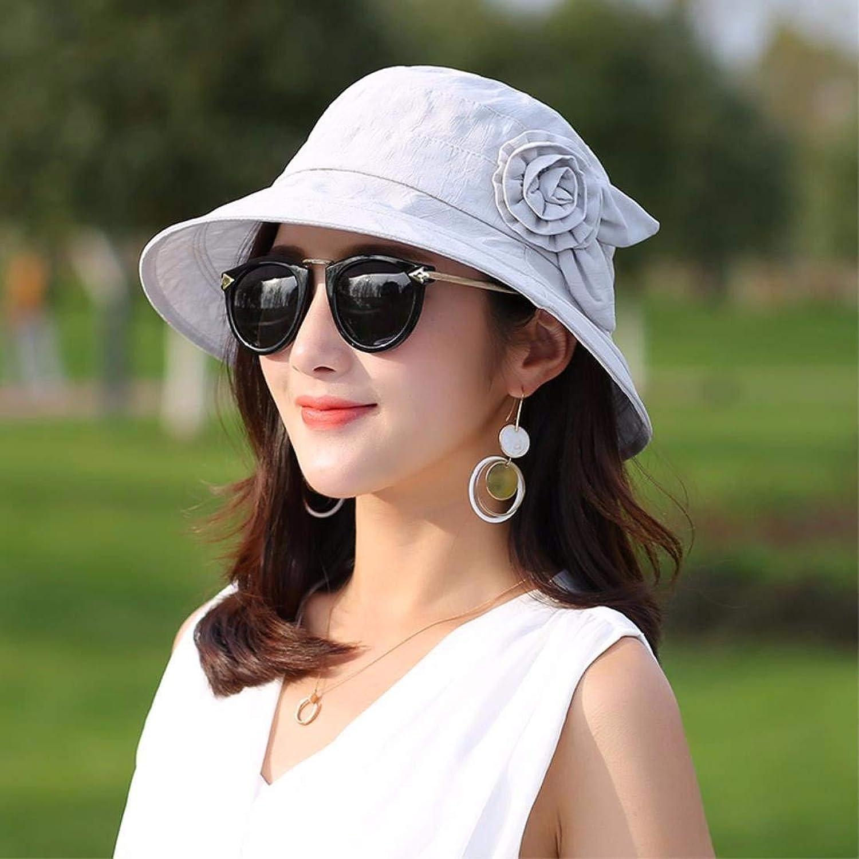 Dingkun Gift for Mom Gift for grandmother Bonnet summer summer hat Cap fisherman hat basin hat Hat middle aged hat