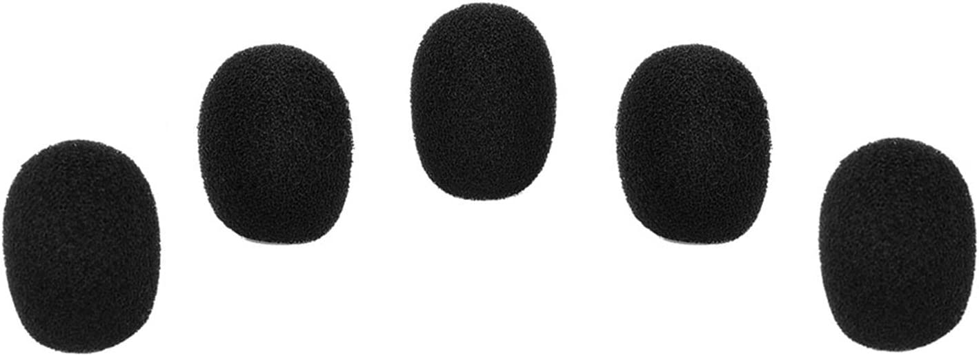 Our shop OFFers the best service eBoot 5 Pack Mini-size Mesa Mall Lapel Windscreen Blac Headset Microphone