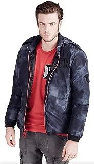 True Religion Mens Puffer Jacket, Black, Size XL, $399