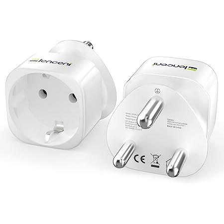 Reiseadapter Set 2x Reisestecker Typ M D Mit Elektronik