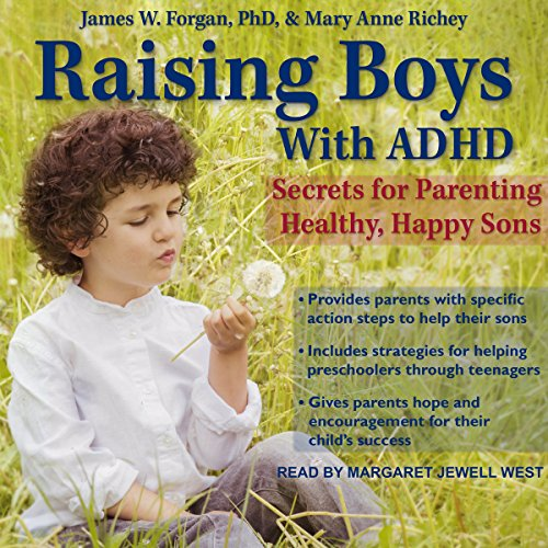 Raising Boys with ADHD audiobook cover art