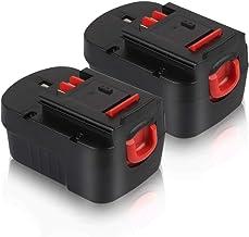 14.4V HPB14 Battery for Black & Decker, Girapow 3.0Ah Ni-Mh Replacement Batteries for Black and Decker Firestorm FSB14 FS1...