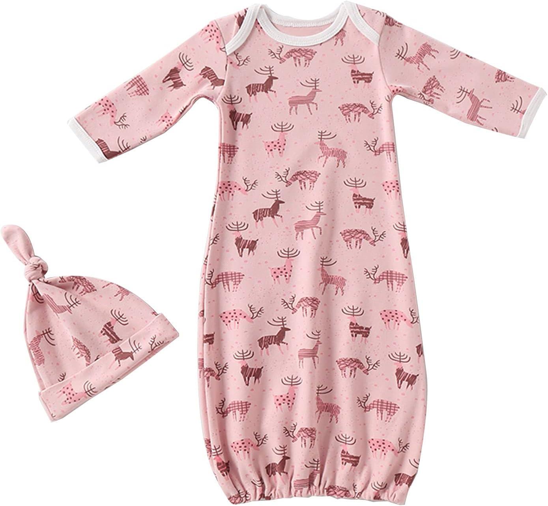 Award Baby Swaddle Sleep Sacks with Hat - Pure Sleeve Long Wearable 1 year warranty Sl