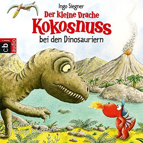 Der kleine Drache Kokosnuss bei den Dinosauriern audiobook cover art