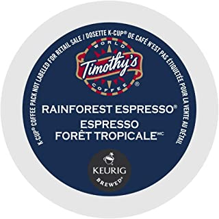 Timothy's World Coffee Rainforest Espresso K-Cup (192 Count)