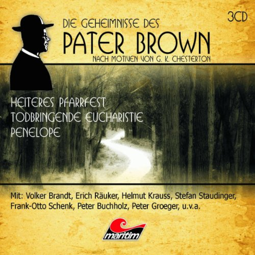 Die Geheimnisse des Pater Brown. Box 1 audiobook cover art