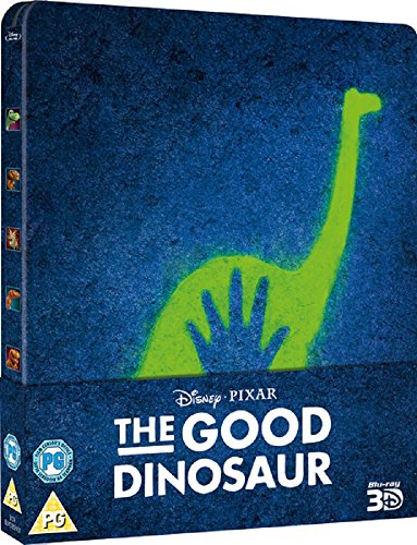 The Good Dinosaur - 3D Steelbook Blu-ray (U. K. 2-Disc Version) mit deutschen TON