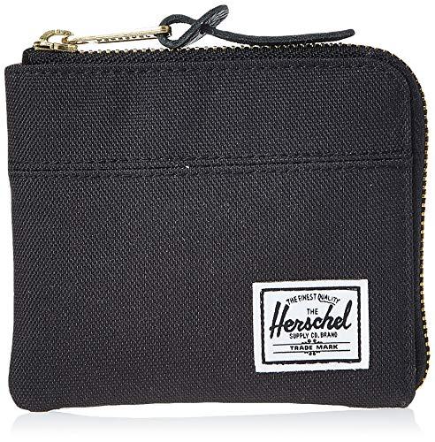Herschel Johnny RFID Zip Wallet, black, One Size