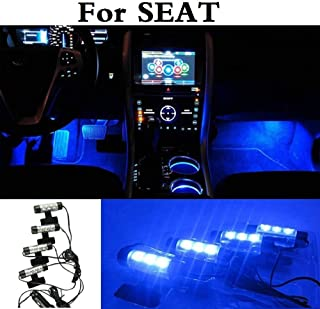 New Auto Interior Light Atmosphere LED Decoration Lamp Car Styling For SEAT Cordoba Exeo Ibiza Cupra