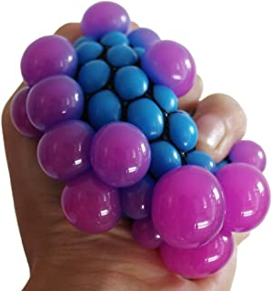 Party Propz Grape Ball Stress Relief Squeeze Hand Wrist Toy Balls