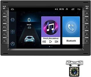 Android Autoradio für VW GPS Navigation CAMECHO 7' Touchscreen Bluetooth Auto Radio Player WiFi FM Radio Empfänger Dual USB für Polo MK3 MK4 MK5 GOLF4
