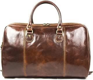 leather hand luggage
