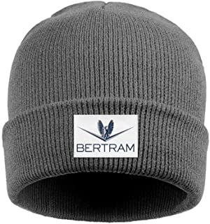 NINETYRW Slouchy Mens Beanie Bertram-Boat-Logo- Skull Cap Cute Womens Knit Cap