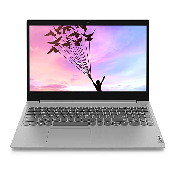 "Lenovo IdeaPad Slim 3 Intel Core i5 10th Gen 15.6"" (39.62cms) FHD Thin and Light Laptop (8GB/1TB HDD/Windows10/Office/Platinum Grey/1.85Kg), 81WE00RNIN"