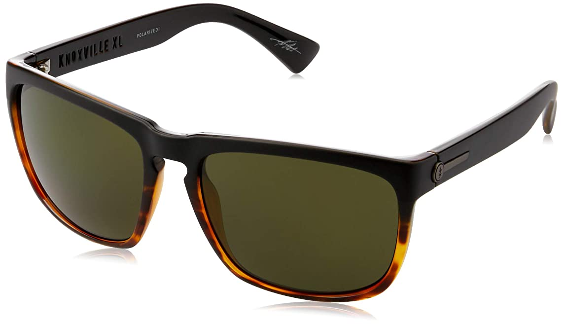 Electric Eyewear Men's Knoxville XL Polarized Dark Side Tort/Ohm Polar Grey One Size