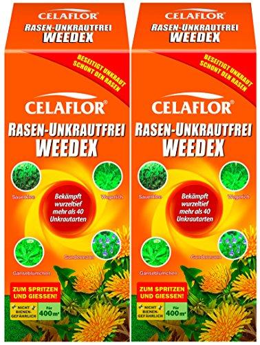 Celaflor Rasen Unkrautfrei Weedex 2 x 400 ml