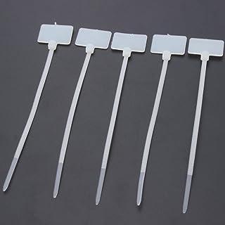Etiquetas de equipaje Anillos Reforzado Encordada Etiquetas Corbata Regalo 108mm X 54mm Marrón Buff