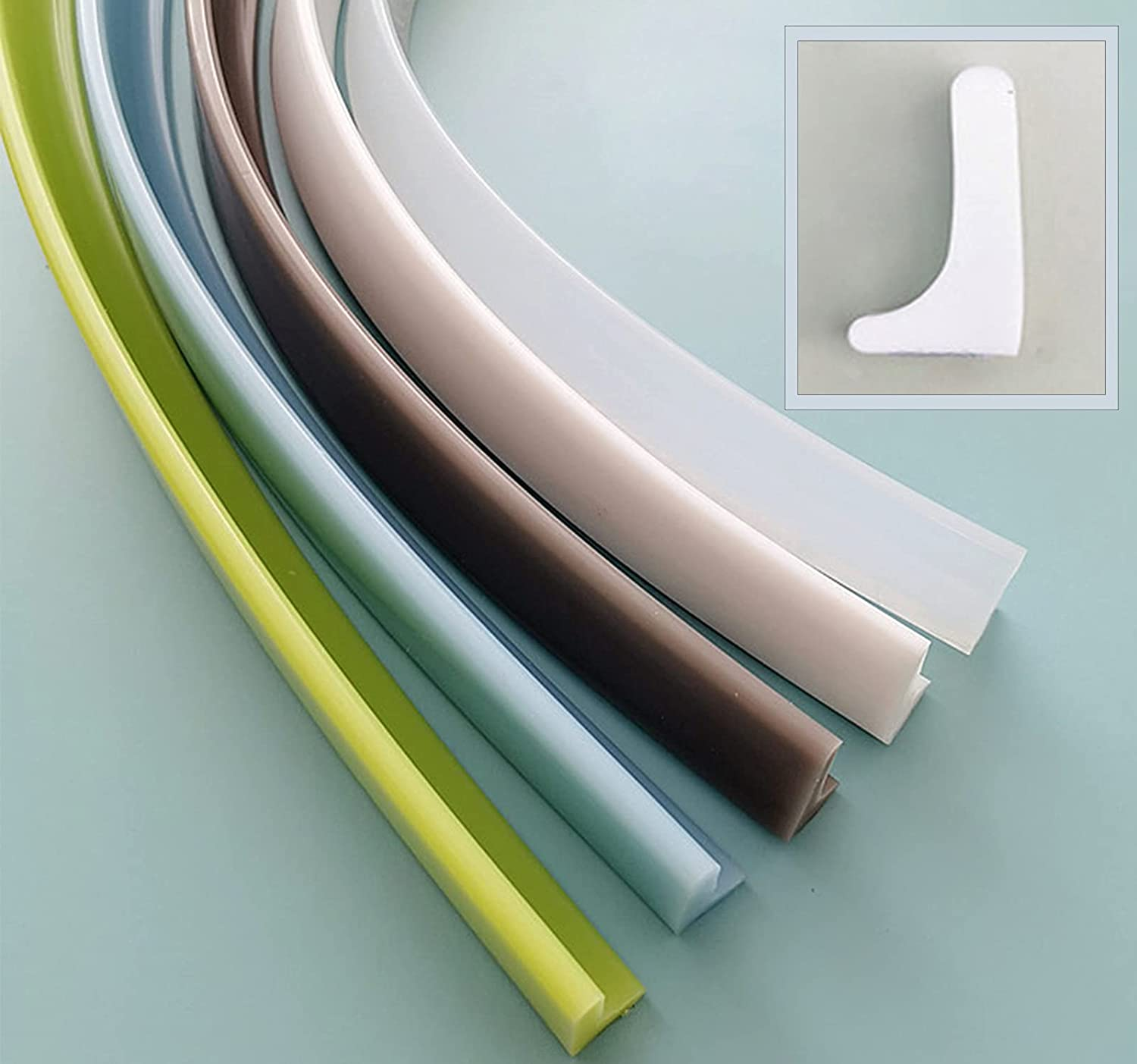 Xanperex Self-Adhesive Max 55% NEW before selling ☆ OFF Silicon Collapsible Blocking Water Strip
