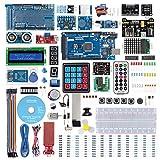 SUNFOUNDER Mega2560 Kit para Arduino Kit de inicio completo con 291 artículos, incluyendo MEGA2560 R3 Board y Tutorial detallado de 357 páginas