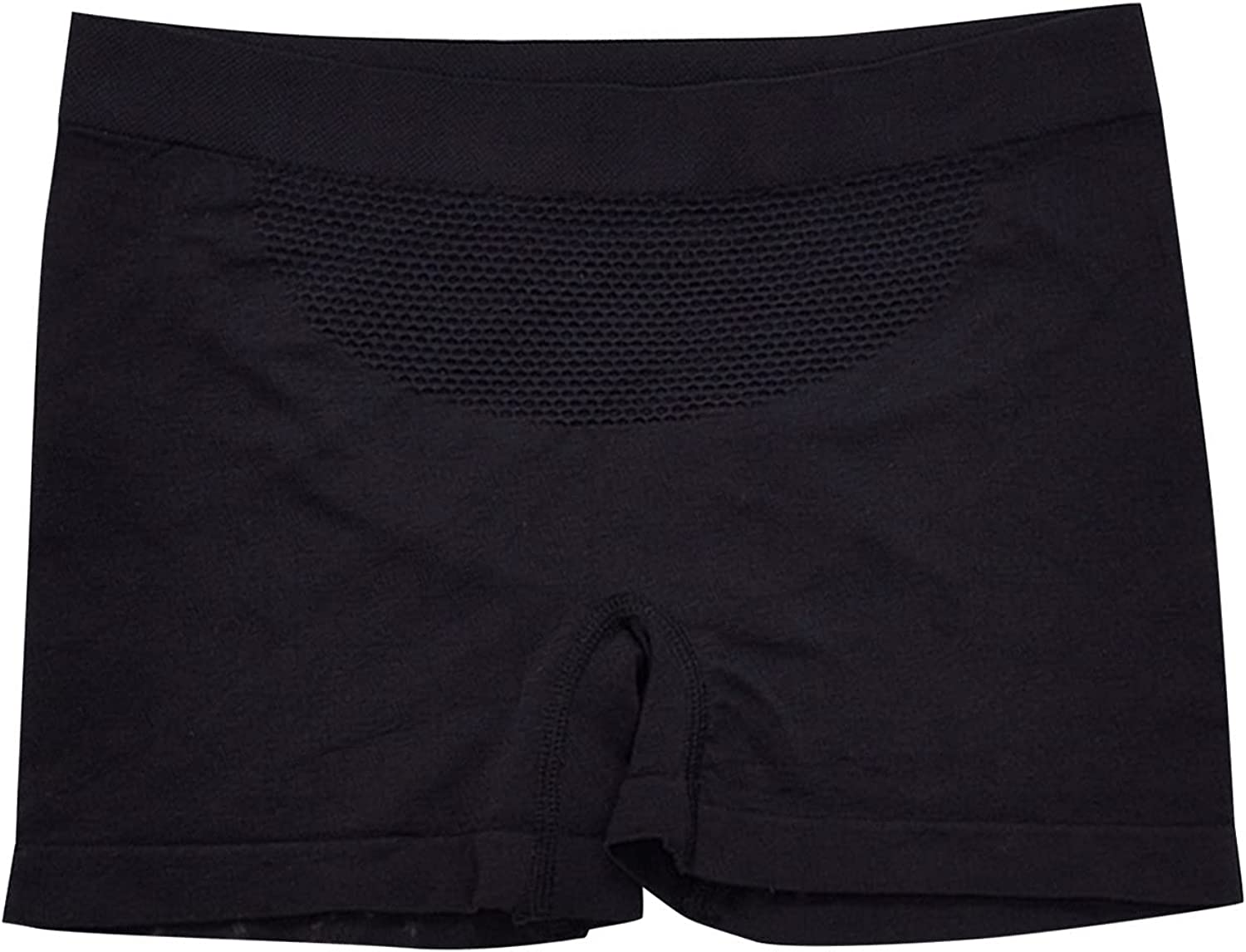 HUAIREN Women's Safety Shorts Underwear Hip Lift Tummy Control Plus Size Invisible Seamless Boxer Undershorts(1pc)