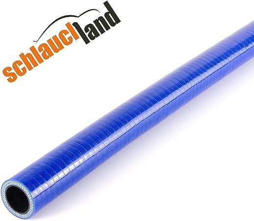 Silikonschlauch 25cm Innendurchmesser 14mm blau*** Unterdruckschlauch Vacuum Hose Verbinder LLK