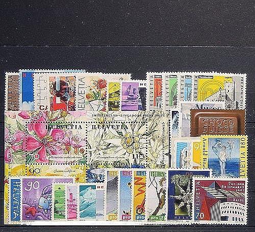 Goldhahn SchWeiß 2001 postfrisch  Nr. 1746-1777 Block 31 Briefmarken für Sammler