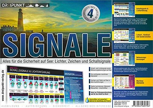 Info-Tafel-Set Signale: 4 beliebte Info-Tafeln im Set (DIN A5)