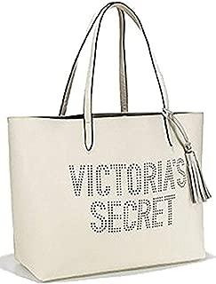 white victoria secret tote