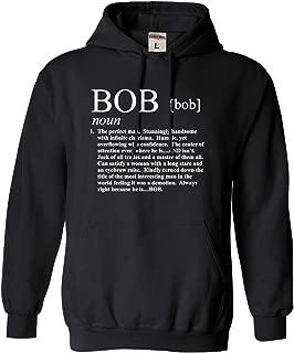 Adult Definition of Bob Funny Sweatshirt Hoodie