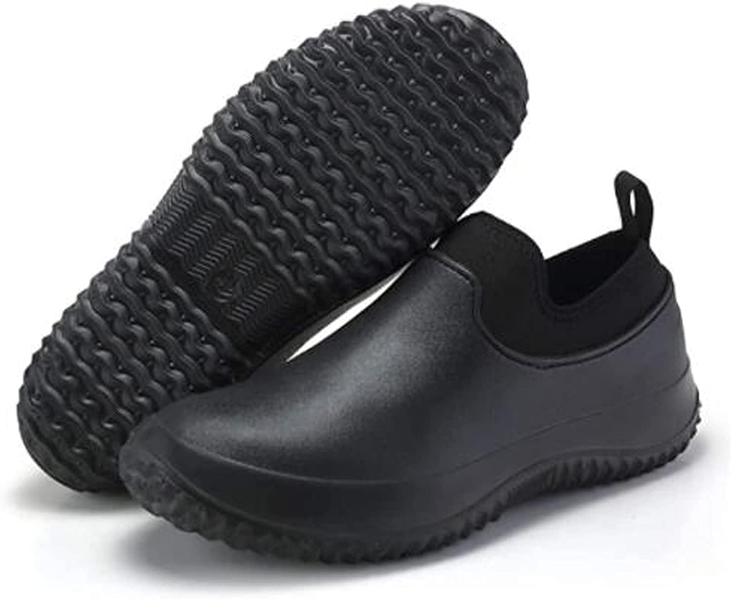 ghitstp Chef Shoes Waterproof Non Slip Water Shoes Safety Garden Shoes Kitchen Shoes Rain Boots Catering Sneakers Work Clogs for Men Women