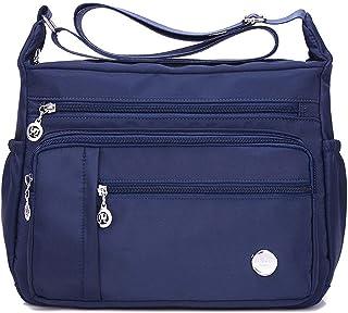 Sponsored Ad - MINTEGRA Women Shoulder Handbag Roomy Multiple Pockets Bag Ladies Crossbody Purse Fashion Tote Top Handle S...