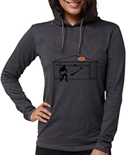 CafePress - Pizza On Roof Breaking Bad Long Sleeve T-Shirt - Womens Hooded Shirt