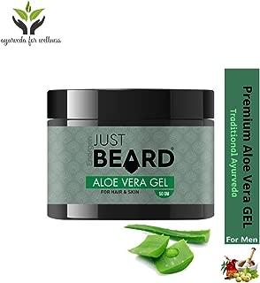 Just Beard Aloe Vera Gel for Hair, Face & Beard (50 gm)