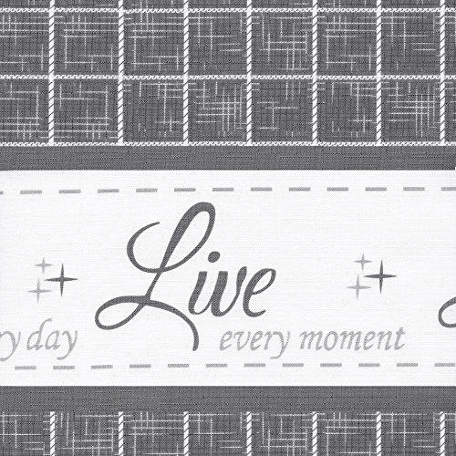 Achim Home Furnishings Achim Home Imports Live, Love, Laugh Window Curtain Valance, 58