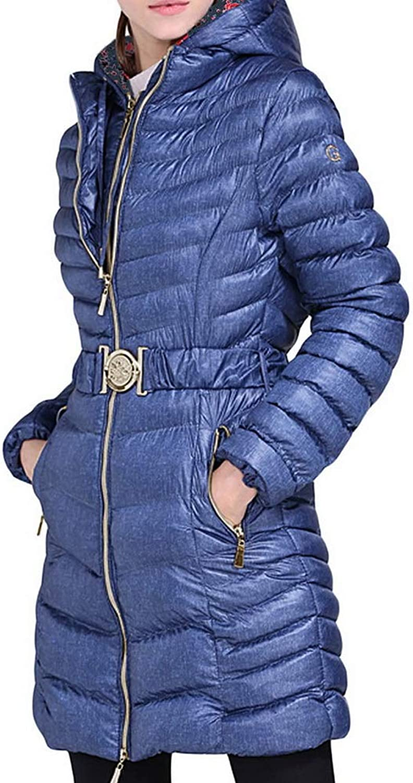 BIUBIONG Women's Flash Forward Lightwet Padded Long Down Jacket Puffer Coat