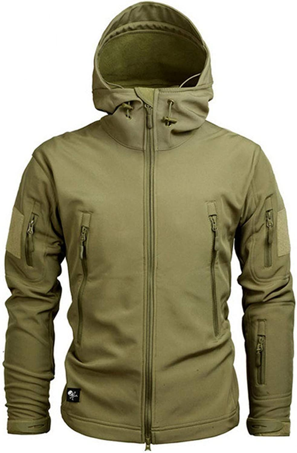 MEIshop Clothing Autumn Mens Military Camouflage Fleece et Army Tactical Multicam Male Windbreakers