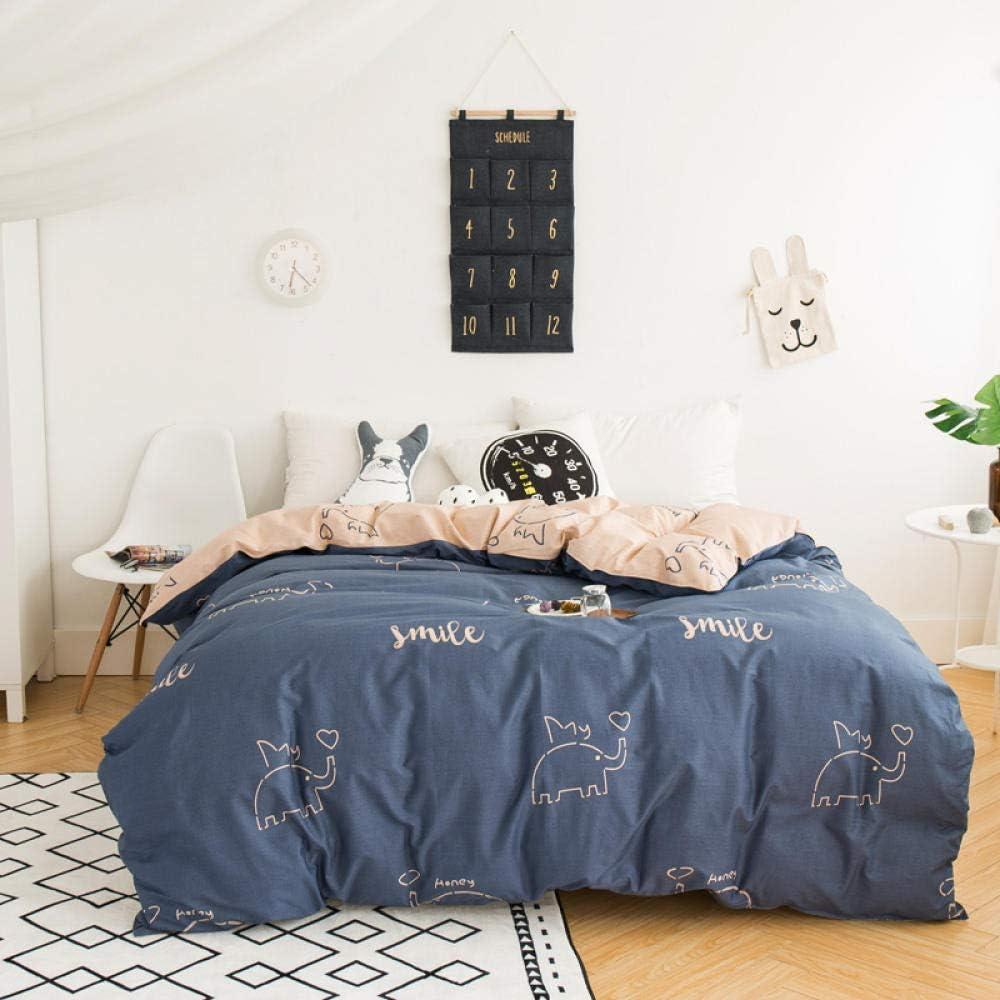 2021 new Super special price PTBDWOSZ Double Duvet Cover Set 3 Bedroom Microfiber Bedding