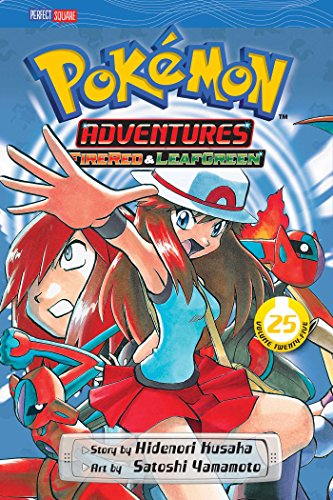 Pokemon Adventures 25: Firered & Leafgreen