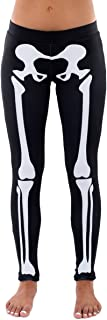 Skeleton Halloween Costume Leggings - Skeleton Tights for Women